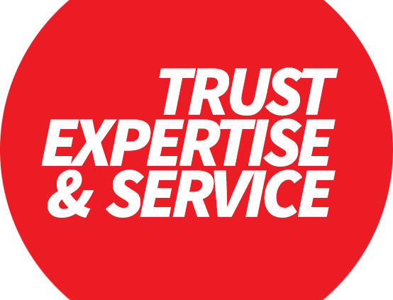 Trust, expertise and service